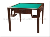 "Rosewood Furniture - ff29f14maj -  Mahjong table longlife design - 35"" x 35"" x 30"""