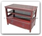 "Chinese Furniture - ff30e45tv -  T.v. cabinet with 1 drawer longlife design - 36"" x 19"" x 26"""