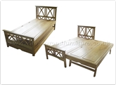 "Rosewood Furniture - ff32f15bed -  Ashwood trundle bed - "" x "" x """