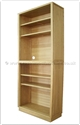 "Chinese Furniture Range- CHff32f17cas -  Ashwood bookcase - 34"" x 15"" x 82.5"""