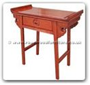"Chinese Furniture - ff33e24alt -  Altar table with 1 drawer longlife design - 28"" x 14"" x 28"""