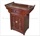 "Oriental Furniture - ff41e3alt -  Altar cabinet dragon design - 24"" x 14"" x 28"""