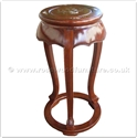"Chinese Furniture - ff42e10fs -  Round flower stand mother of pearl inlaid - 14"" x 14"" x 30"""