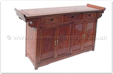 "Chinese Furniture - ff60abbuf -  Altar style buffet f and b design - 60"" x 19"" x 34"""