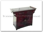 "Chinese Furniture - ff7013d -  Altar table full dragon design - 36"" x 16"" x 30"""