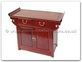 "Rosewood Furniture - ff7013p -  Altar table plain design  - 36"" x 16"" x 30"""