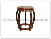 "Rosewood Furniture - ff7015n -  Drum stool - 13"" x 13"" x 18"""