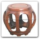"Chinese Furniture - ff7026 -  Small stool - 12"" x 12"" x 13"""