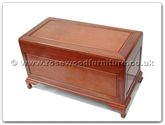 "Rosewood Furniture - ff7029p -  Chest plain design with camphorwood lined - 40"" x 20"" x 23"""