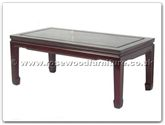 "Oriental Furniture Range - ORff7032p -  Coffee table plain design 40 inch - 40"" x 20"" x 16"""