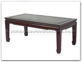 "Oriental Furniture Range - ORff7032pb -  Coffee table plain design 50 inch - 50"" x 20"" x 16"""