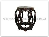 "Rosewood Furniture - ff7045 -  Rope stool - 13"" x 13"" x 18"""