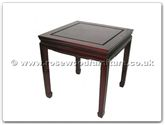"Chinese Furniture - ff7101p -  End table plain design - 20"" x 20"" x 20"""
