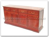 "Rosewood Furniture - ff7109a -  American style buffet - 72"" x 19"" x 34"""