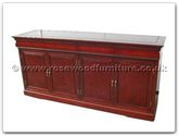 "Oriental Furniture - ff7109e -  European style buffet with 4 drawers  and  4 doors - 72"" x 19"" x 34"""