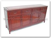 "Oriental Furniture - ff7109fs -  Buffet french design with shell handle on drawers - 72"" x 19"" x 34"""