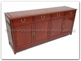 "Rosewood Furniture - ff7109m -  Ming style buffet - 72"" x 19"" x 32"""