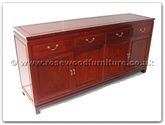 "Chinese Furniture - ff7109p -  Buffet plain design - 72"" x 19"" x 34"""