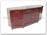 "Rosewood Furniture - ff7311b -  Angle ming style buffet - 72"" x 19"" x 32"""