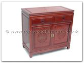 "Oriental Furniture - ff7312l -  Buffet with 2 drawers  and  2 doors longlife design - 36"" x 19"" x 34"""