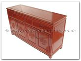 "Chinese Furniture - ff7314l -  Buffet longlife design - 60"" x 19"" x 34"""