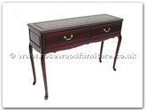 "Chinese Furniture - ff7320f -  Serving Table With 2Drawers French Design - 48"" x 14"" x 31"""
