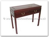 "Chinese Furniture - ff7320p -  Serving table with 2drawers plain design - 38"" x 16"" x 32"""