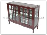 "Chinese Furniture - ff7321 -  Glass cabinet french design - 48"" x 14"" x 36"""