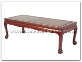 "Oriental Furniture Range - ORff7325s -  Coffee table tiger legs 40 inch - 40"" x 18"" x 16"""