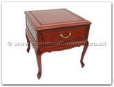 "Rosewood Furniture - ff7332 -  Queen ann legs side table - 22"" x 22"" x 22"""