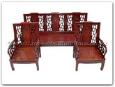 "Oriental Furniture Range - ORff7339l -  High back sofa longlife design  (excluding cushion) - 72"" x 22"" x 36"""