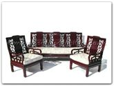 "Chinese Furniture - ff7339p -  High back sofa plain design (excluding cushion) - 72"" x 22"" x 36"""