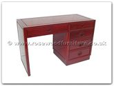"Oriental Furniture Range - ORff7341l -  Desk with 4 drawers longlife design  - 48"" x 22"" x 31"""