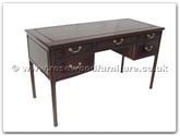 "Rosewood Furniture - ff7343 -  Ming style desk with 5 drawers - 54"" x 24"" x 31"""