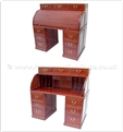"Chinese Furniture - ff7346p -  Roll top desk - 54"" x 28.5"" x 52.5"""
