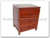 "Chinese Furniture - ff7352l -  Bedside cabinet longlife design - 20"" x 17"" x 24"""
