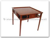"Chinese Furniture - ff7365 -  Ming style mahjong table - 33"" x 33"" x 31"""