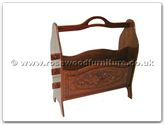 "Chinese Furniture - ff7366f -  Magazine rack french design  - 18"" x 7.5"" x 20"""