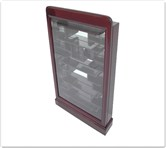 "Chinese Furniture - ff7369e -  Small display cabinet plain design e style - 22"" x 5"" x 30"""