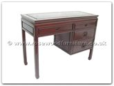 "Rosewood Furniture - ff7442l -  Desk with 4 drawers longlife design  - 42"" x 18"" x 31"""