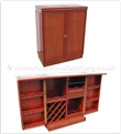 "Rosewood Furniture - ff7448p -  Sq bar plain design - 36"" x 18"" x 42"""