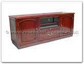 "Rosewood Furniture - ff7471p -  T.v. cabinet plain design - 60"" x 19"" x 24"""