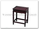 "Rosewood Furniture - ff7613 -  Sq stool 14 x 10 x 18 - 14"" x 10"" x 18"""