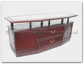 "Rosewood Furniture - ff7662 -  Angle t.v. cabinet - 66"" x 22"" x 28"""