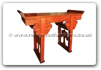 "Oriental Furniture - ffalt36 -  Altar table - 47"" x 20.5"" x 36"""