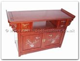 "Chinese Furniture - ffastvm -  Altar Sharp T.V. Cabinet With M.O.P. - 49"" x 19"" x 30"""