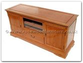 "Rosewood Furniture - ffaweur tv -  Ash Wood European Style T.V.Cabinet - 60"" x 20"" x 28"""