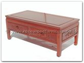 "Oriental Furniture - ffbcoffee -  Coffee table with 2 drawers f and b design - 40"" x 20"" x 16"""