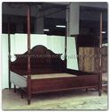 "Rosewood Furniture - ffexample -  Four poster bed - 0"" x 0"" x 0"""