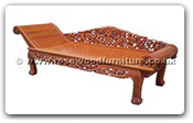 "Rosewood Furniture - ffclgd -  Chaise longue grape design - 89"" x 29.5"" x 29.5"""
